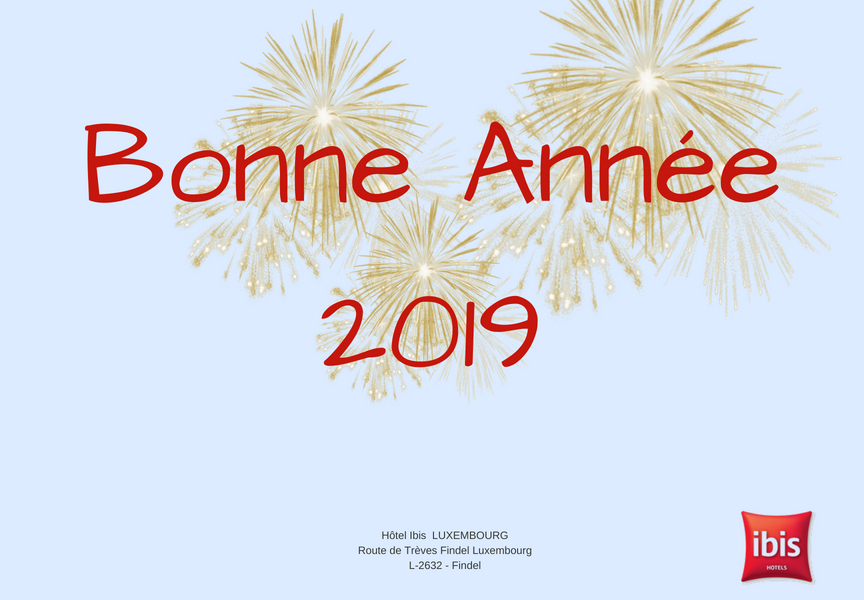 hotel ibis luxembourg bonne annee 2019
